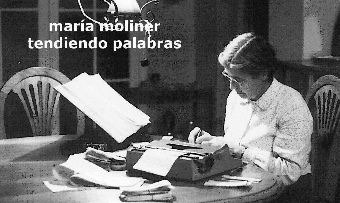 Image result for MARIA MOLINER TENDIENDO PALABRAS